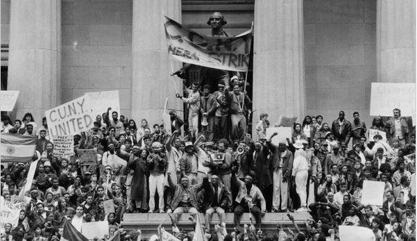 CCNY Strike, 1989