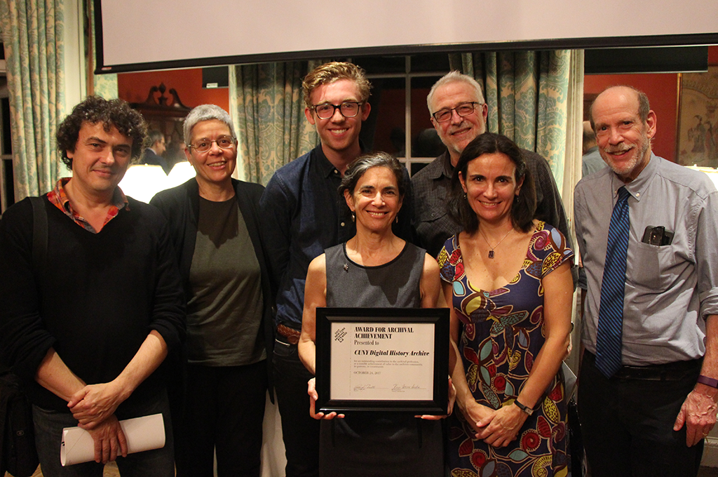 ART award group at ceremony