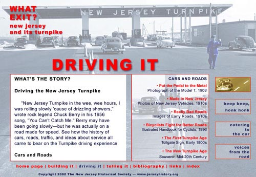 New Jersey Turnpike Web Site