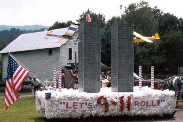 9-11 float from The September 11 Digital Archive