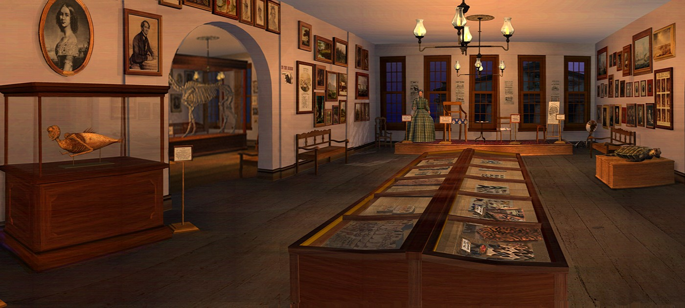 Lost Museum relaunch still from game