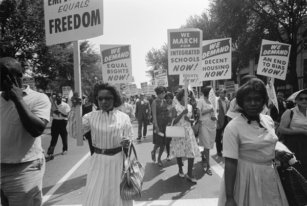March on Washington, August 1963