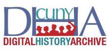 CUNY Digital History Archive (CDHA) Logo